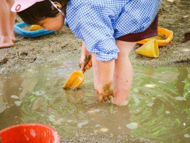 泥んこ遊びする時に子どもに配慮することは?