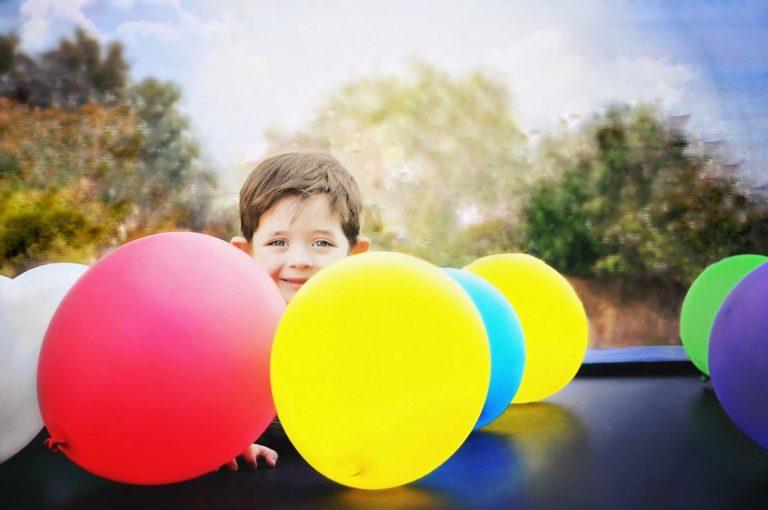 歳児 2 風船 遊び