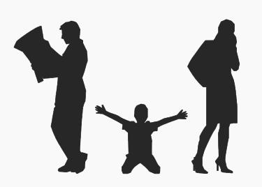親の離婚で子供が感じるストレス。最小限にする方法とは?